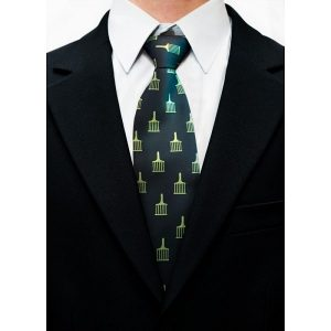 masonic allied degree tie allover logo suitup
