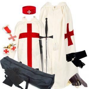 Knight Templar full regalia pack